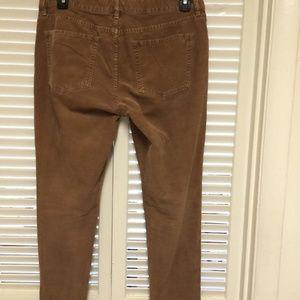 J. Crew Pants - J.Crew Vintage Matchstick Skinny Corduroy Pants